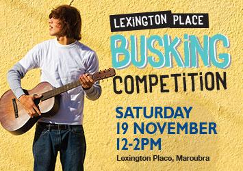Lexington Place Busking Competition