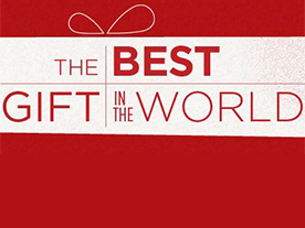 The best gift in the world.