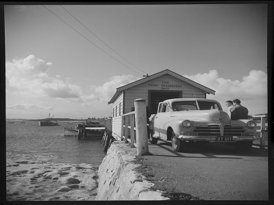 Ferry to Kurnell 1953 by Max Dupain
