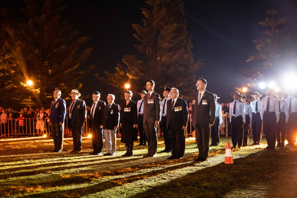 A previous Anzac Day service at Coogee