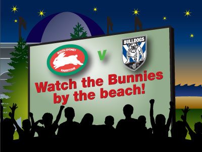 Coogee Beach NRL Grand Final Live Site