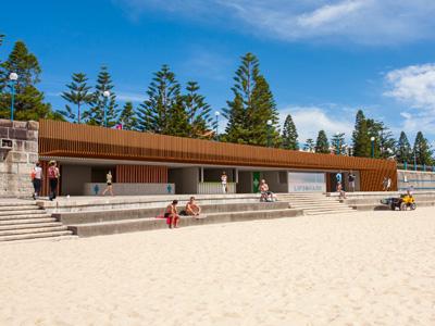 Coogee beach amenities restoration works
