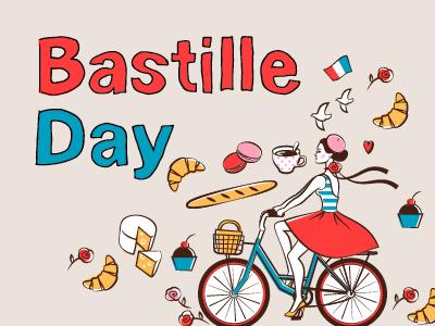 Bastille day 2020 - cook crepes online