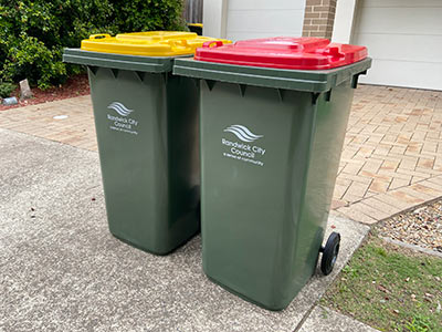 New rubbish and recycling bins are being delivered to every household.
