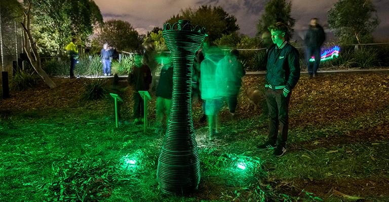 NOX Night Sculpture