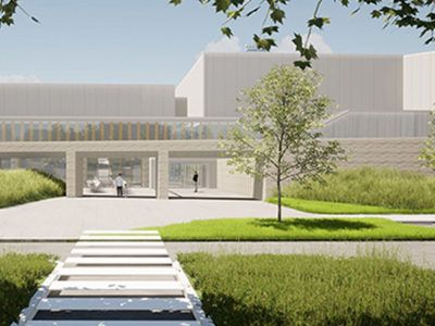 The design for the new Heffron Centre