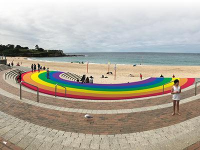 Coogee Rainbow Walkway proposal