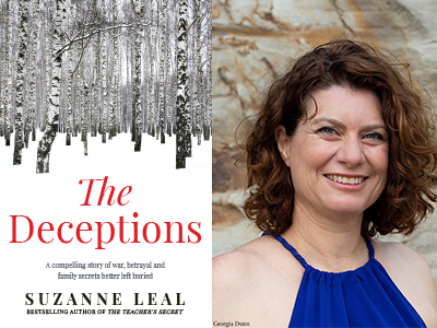 The Author Talks: Suzanne Leal - The Deceptions LIVE ONLINE