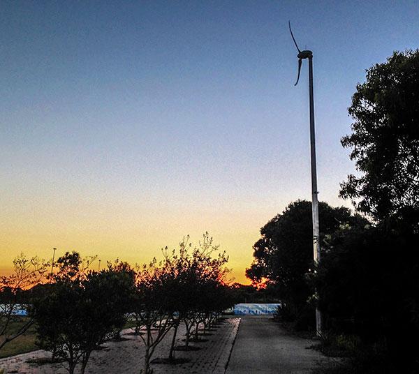 Wind Turbine. Photo: Russ Grayson