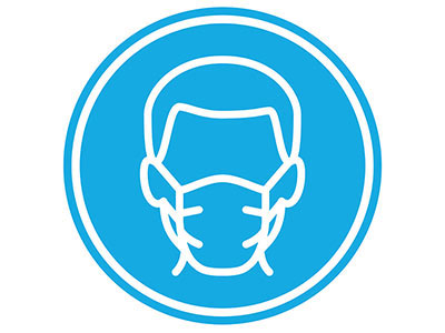 Residents encouraged to wear masks in building common areas.
