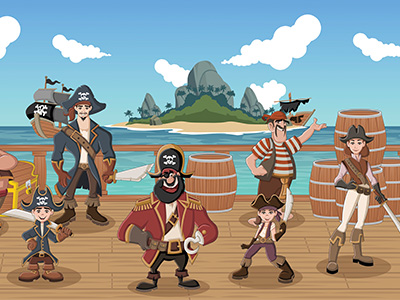 School Holiday Event: Pirates Ahoy! | Online (school years K-6)