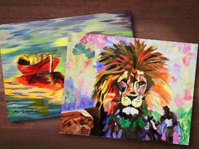 Create! Art Class Exhibition