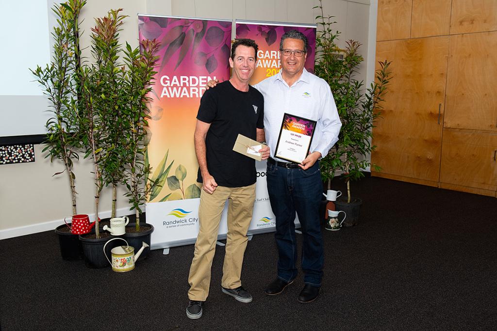 Andrew Parker - Garden Award Winner 2019