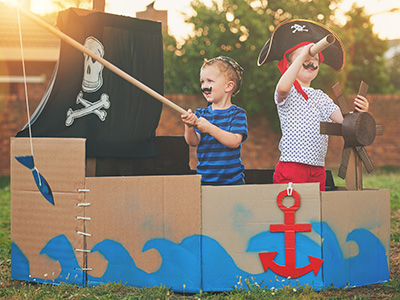 School Holiday Event: Pirate Play Day | Online (school years K-3)