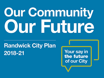 Our Community Our Future Information Session