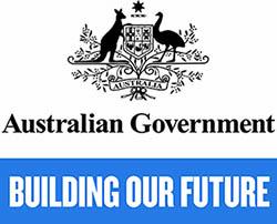 Australian government logo - Building our future