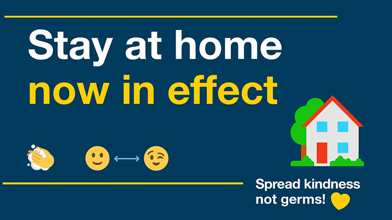 Stay at home restrictions in effect for Randwick City residents and workers.