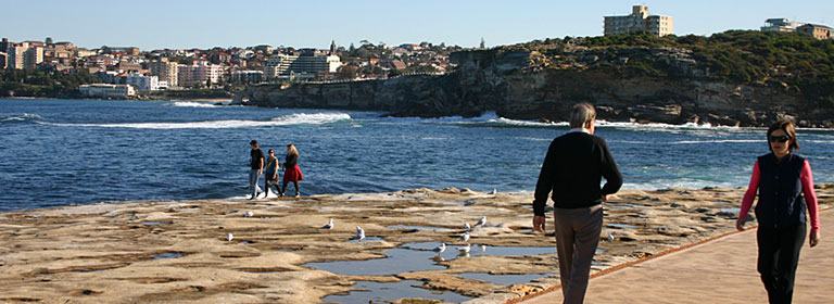 View of Clovelly to Coogee coastal walk