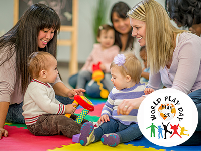 Celebrate World Play Day May 28