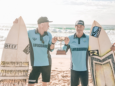 Lifeguard Surfing Cup