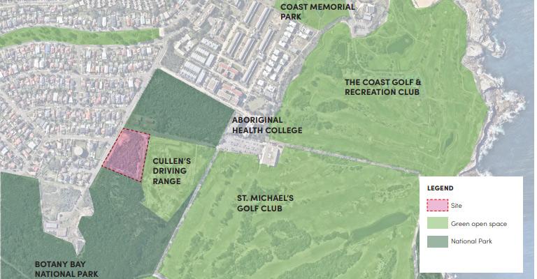 Location of proposed development.
