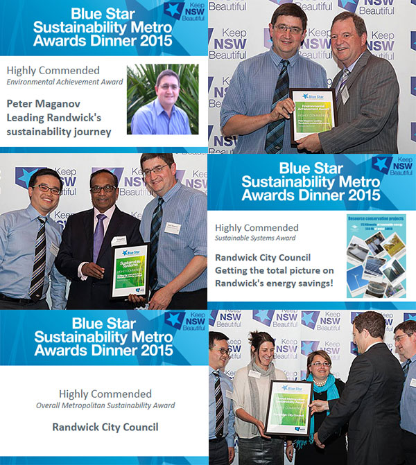 2015 Blue Star Highly Commended awards