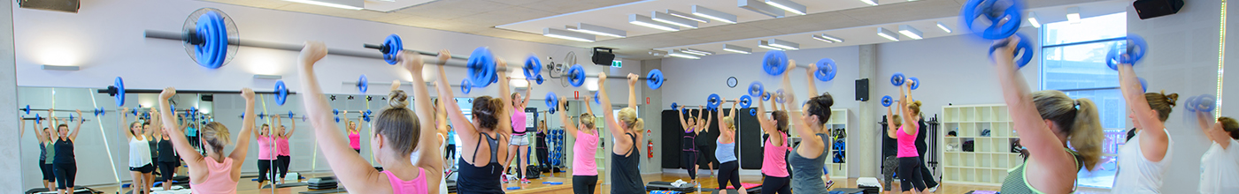 Body Pump Inside Banner