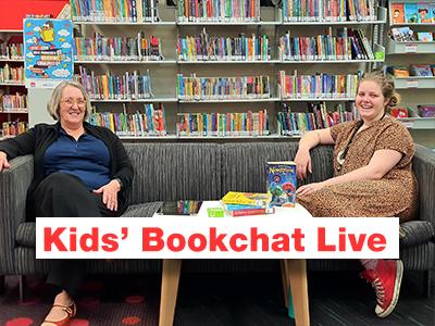Kids' Bookchat on Wednesday | LIVE ONLINE (Library Facebook)