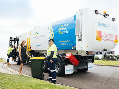 From March 2021 a new fleet of Council garbage trucks will hit the streets.