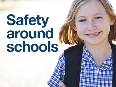 Read our guide on how to drive and park safely around schools.