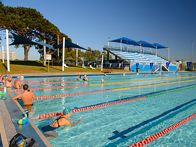 DRLC outdoor pool