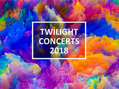 Twilight Concerts 2018 Program