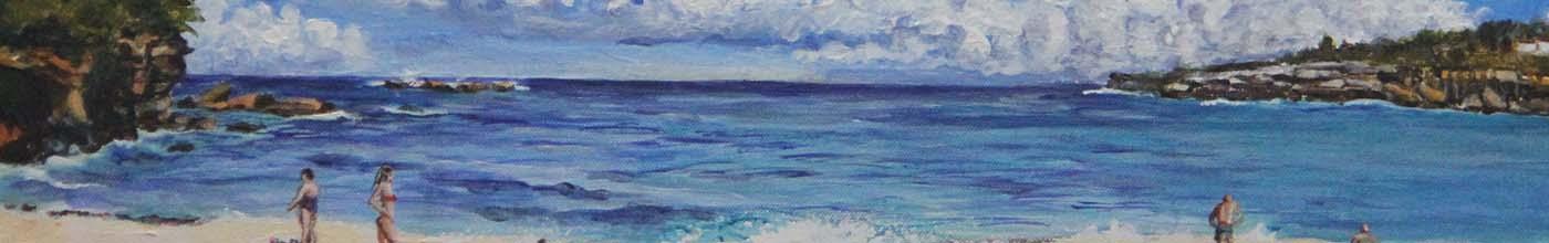 Coogee Beach by Heidi Hereth