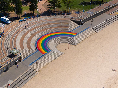 The Coogee Rainbow Walkway is here to stay.