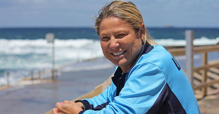 Randwick Council Lifeguard Fiona Borg