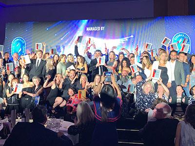 2019 Business Award winners.